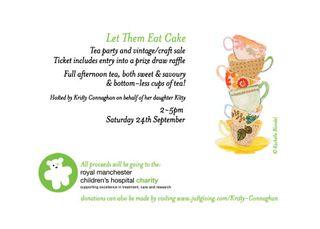 Tea party minus address